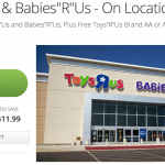 $10 Groupon for Toy R US & Babies R US and Free Batteries exp. Nov 23, 2013
