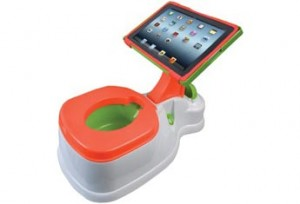Digital toys - iPad Potty