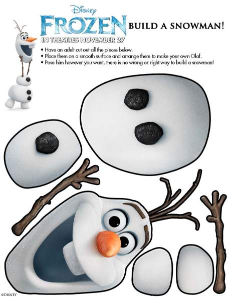 Disney's Frozen Snowman