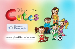 Find the Cutes on social media. Kickstarter Campaign Mar 1- Mar 31