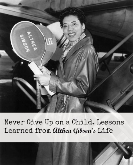 She inspires: Lessons learned for the great American athlete Althea Gibson.