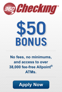 Get $50 when you sign up for a Capital 360 Checking account