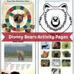 Disney Bears Activity Pages