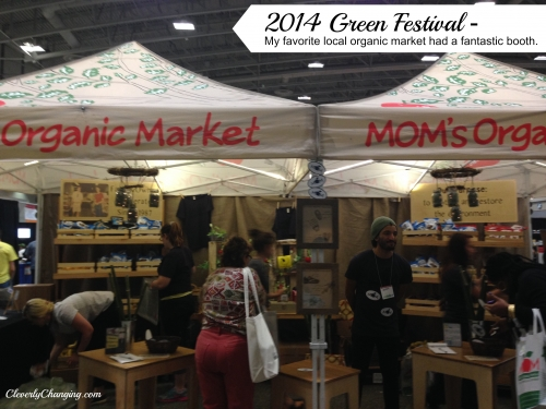 Moms Organic Market DC Green Festival 2014