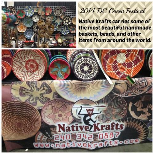 2014 Green Festival in DC Native Krafts