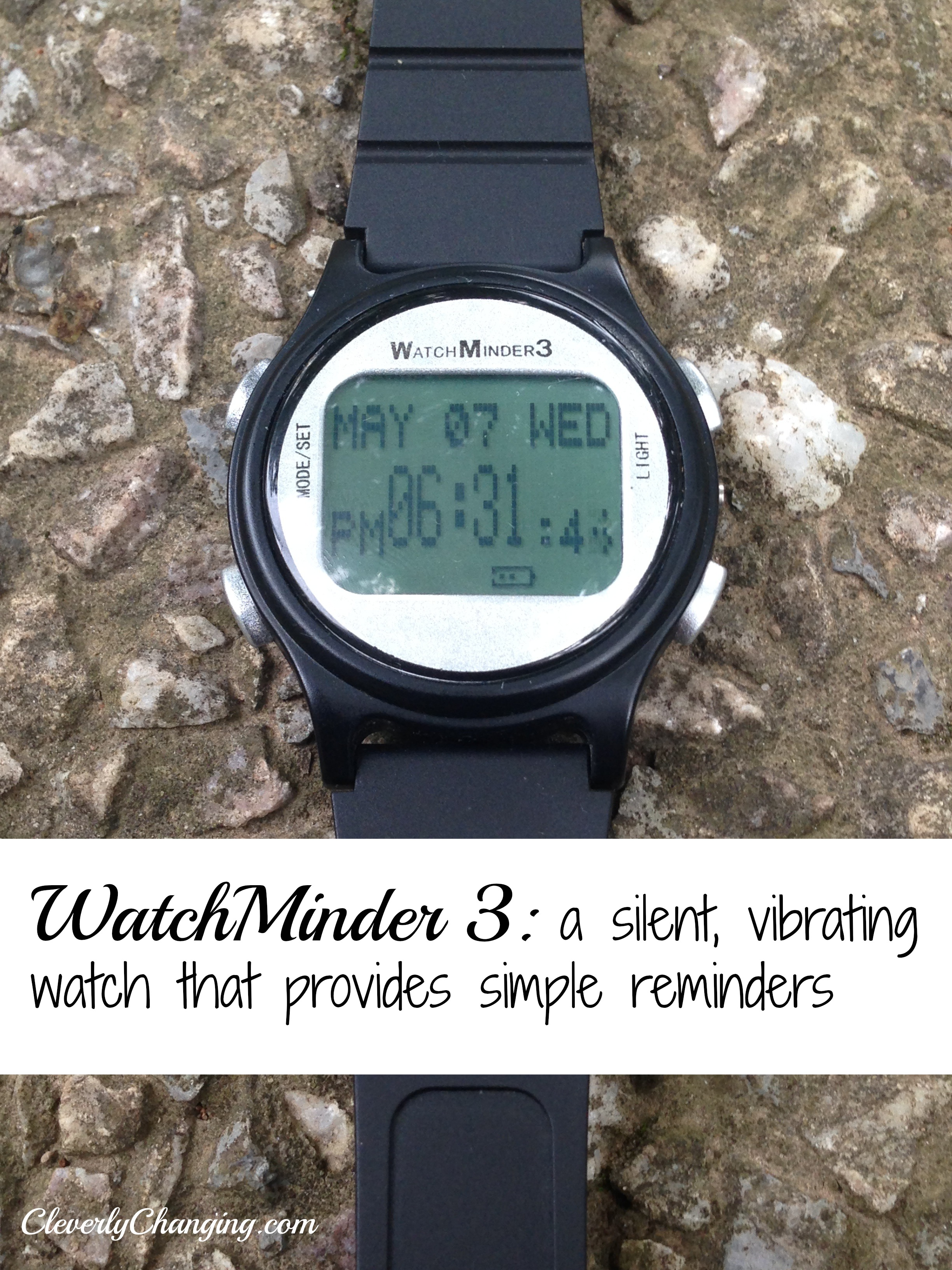 Watchminder3 A Silent Alarm Reminder Watch Cleverly