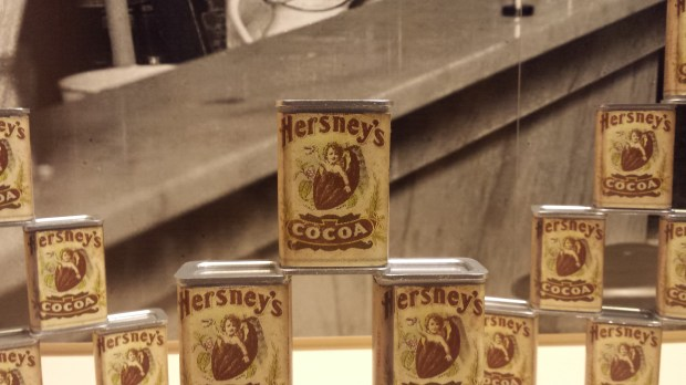 Hersney's packaging at the Hershey Story Chocolate Museum #familyfun #TravelClevely