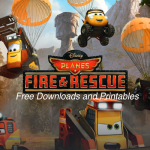 Free Downloads and Printables for Disney's PLANES: FIRE & RESCUE