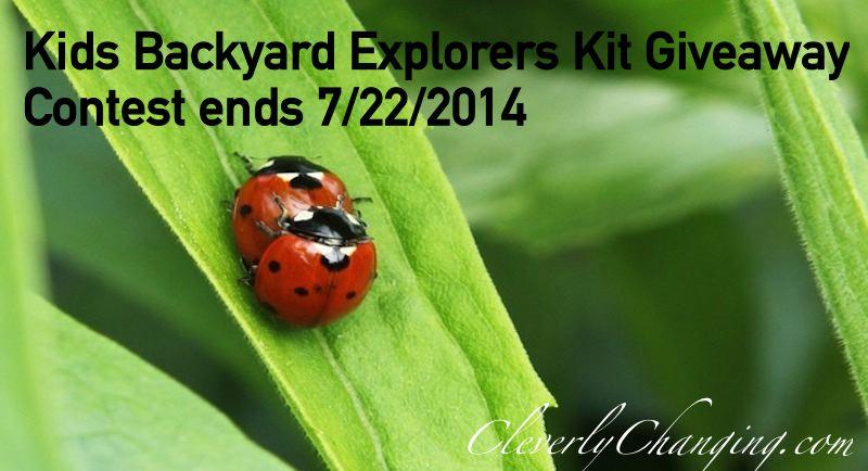 Summer Learning Backyard Explorers Kit
