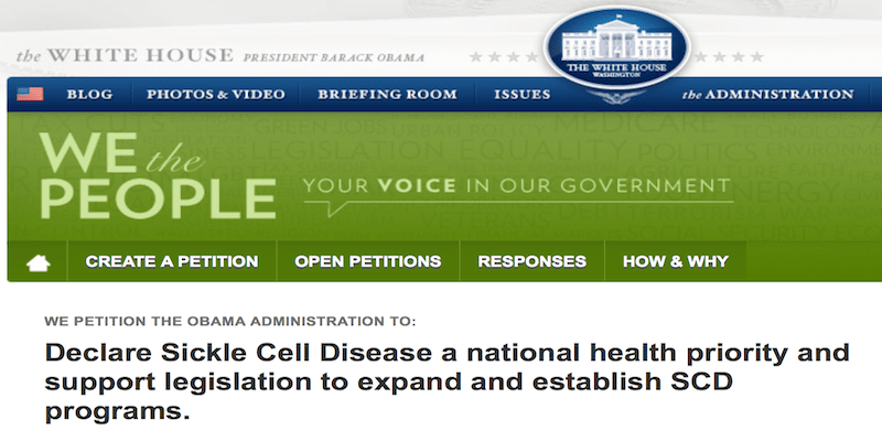 Please sign the Reauthorization Sickle Cell Treatment Bill #30forSickleCell