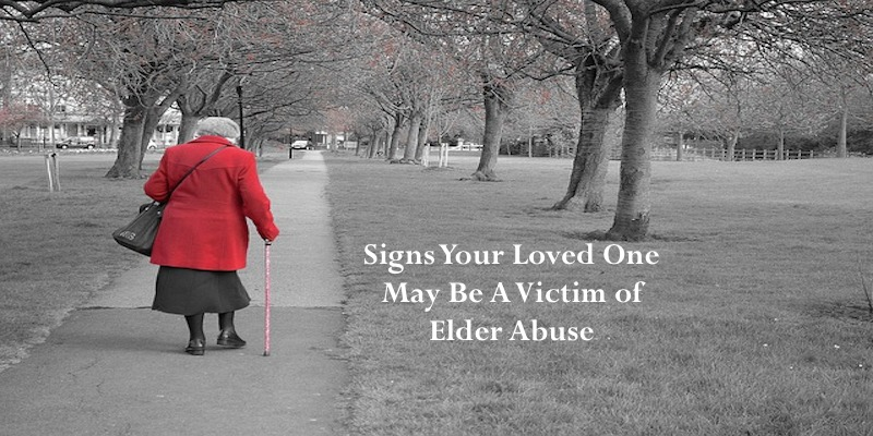 Signs Your Loved One May Be A Victim of Elder Abuse #Elderly #family #finance