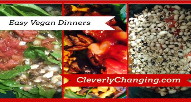 Easy Vegan Dinners #veggies #food #vegetarian #recipes