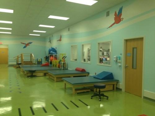 @StJude rehabilitation room. #cancer #treatment
