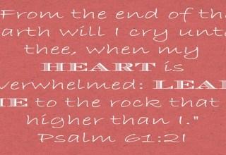 Psalm 61:21 #hope #cancersucks