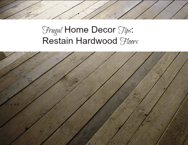 Home decor tips: re-stain wood #diy #decorating via @cleverlychangin
