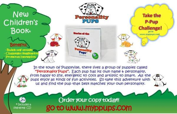 Personality Pups Book for Kids