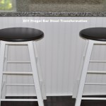 Cleverly Frugal: Simple Update For Bar Stools