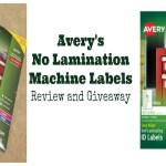 Review and Giveaway: Avery Easy Align Self-Laminating ID Labels