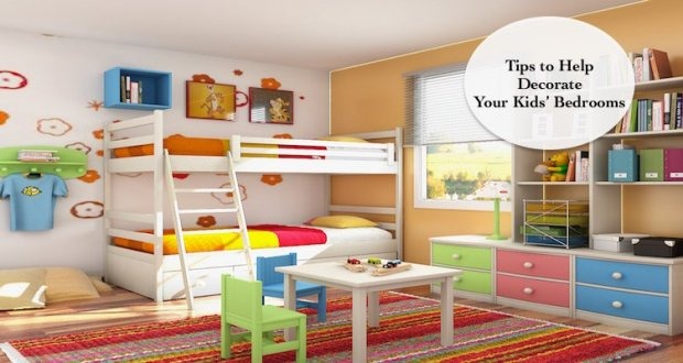 4 Adorable Ways to Decorate Your Kids' Bedrooms