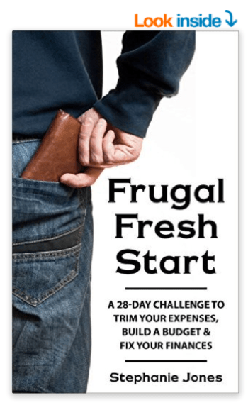 Frugal Fresh Start by Stephanie Jones {affl}