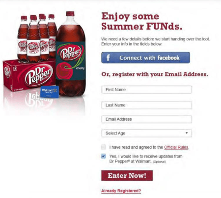 Step 1 How to Enter the Dr Pepper Summer Fund #Contest #giveaway
