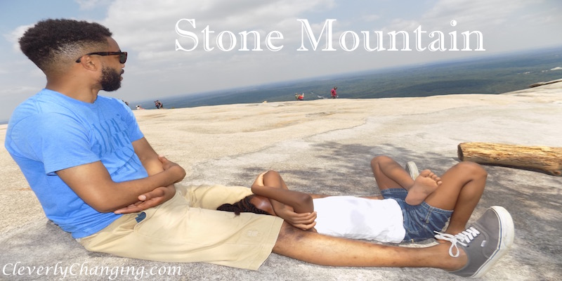 Stone Mountain Hike With kids