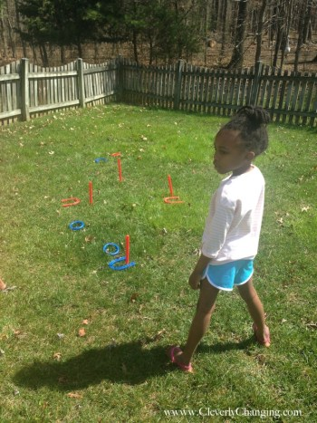 Exercise this summer with backyard games