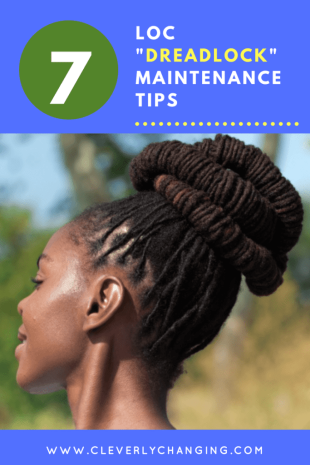 "7 Loc ""Dreadlock"" Maintenance Tips #naturalhair #tips"
