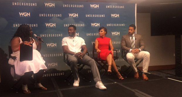 3 Cast members from the WGN Show Underground