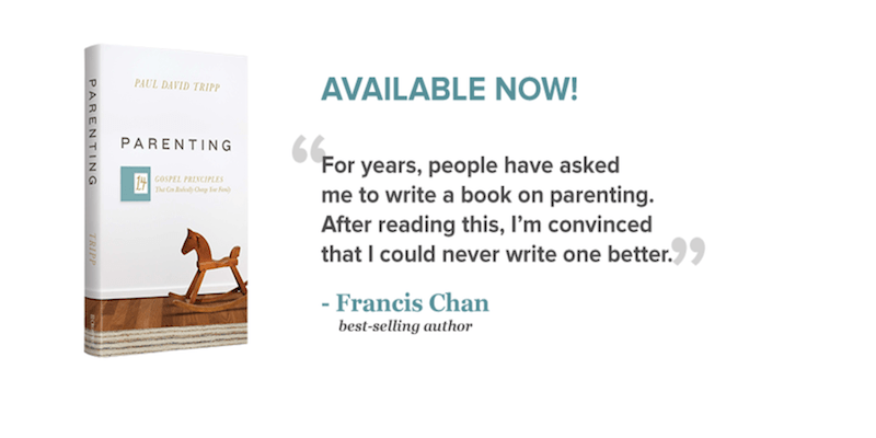 Quote on Parenting 14 Gospel Principles That Can Radically Change Your Family by Paul David Tripp