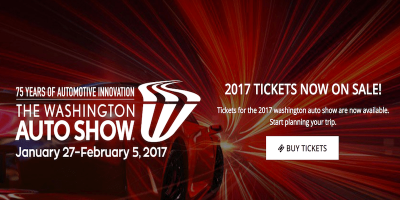Washington Auto Show 2017 Cover