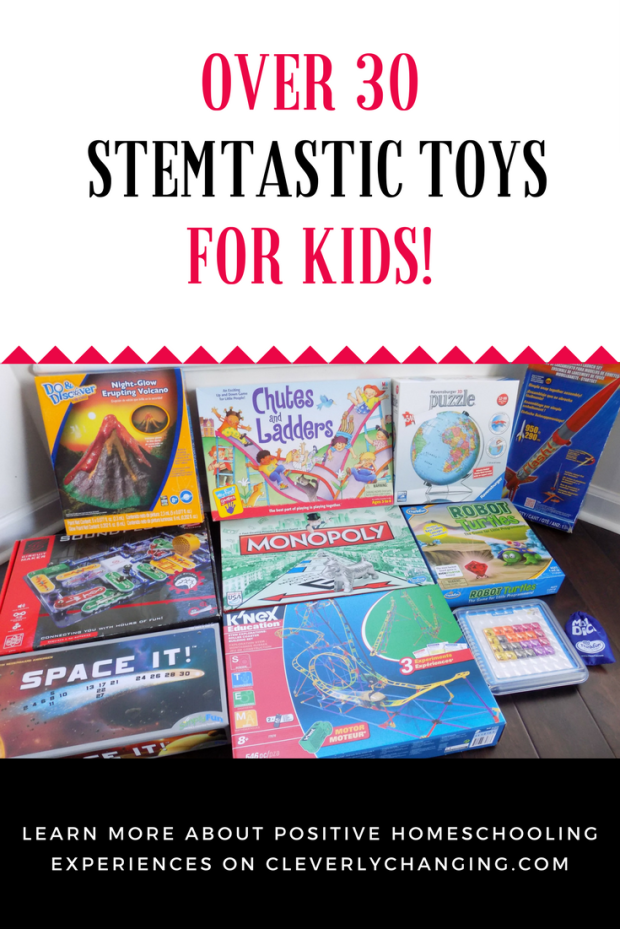 STEM toys that teach kids