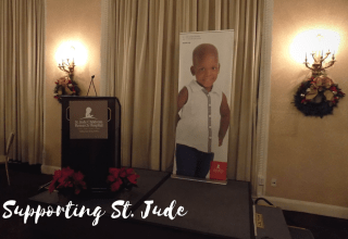 Supporting St Jude Holiday on the Hill #stjude #charity #supporters