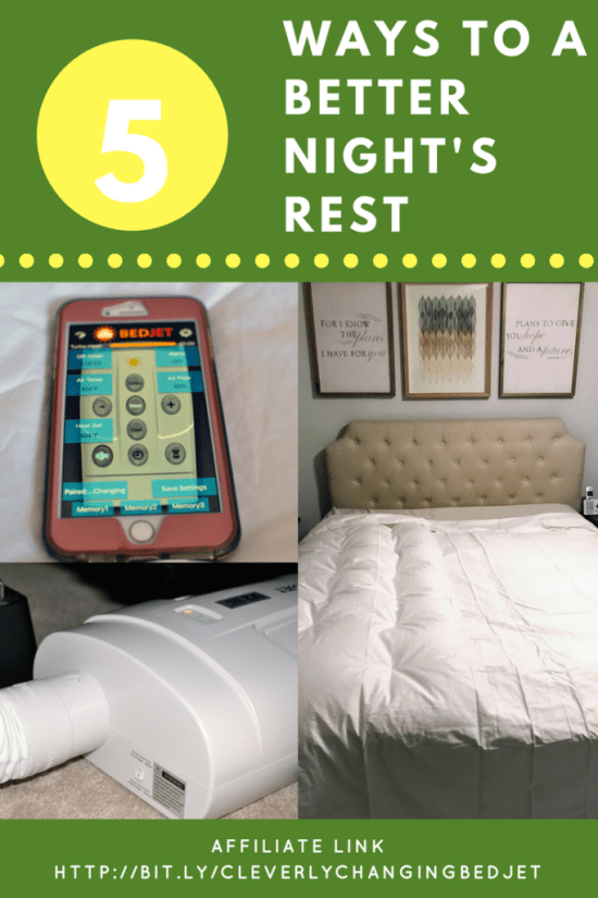 5 Ways to a better night's rest