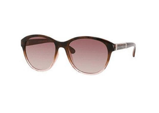 Marc Jacobs MMJ225S0NBO Brown Gradient Lenses Women's Cat Eye Brown Blue Plastic Frame Sunglasses