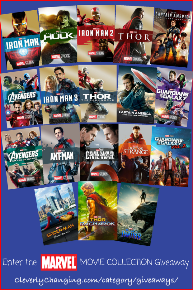 Enter To Win The Entire Disney Marvel Collection ARV $295