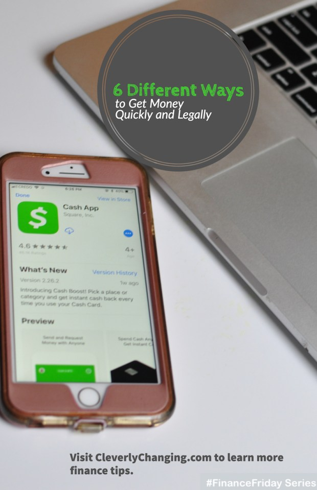 Get Money Quickly and Legally