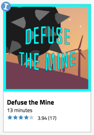 Legends of Learing Defuse the Mine