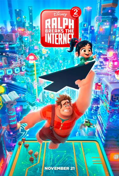 Wreck it Ralph 2 Movie Poster and the Christopher Robin Event details with Disney Bloggers