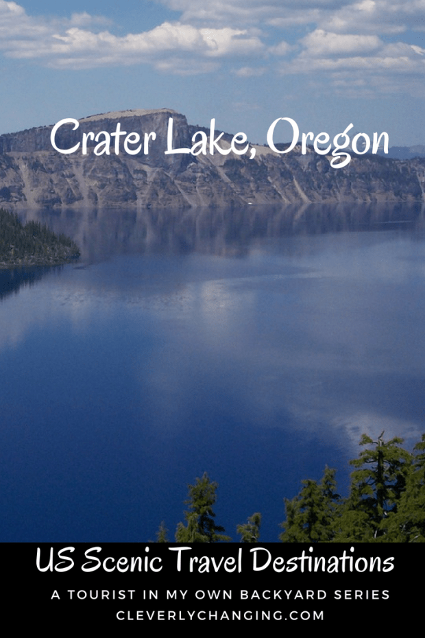 Crater Lake, Oregon is a wonderful family scenic travel destination in the US