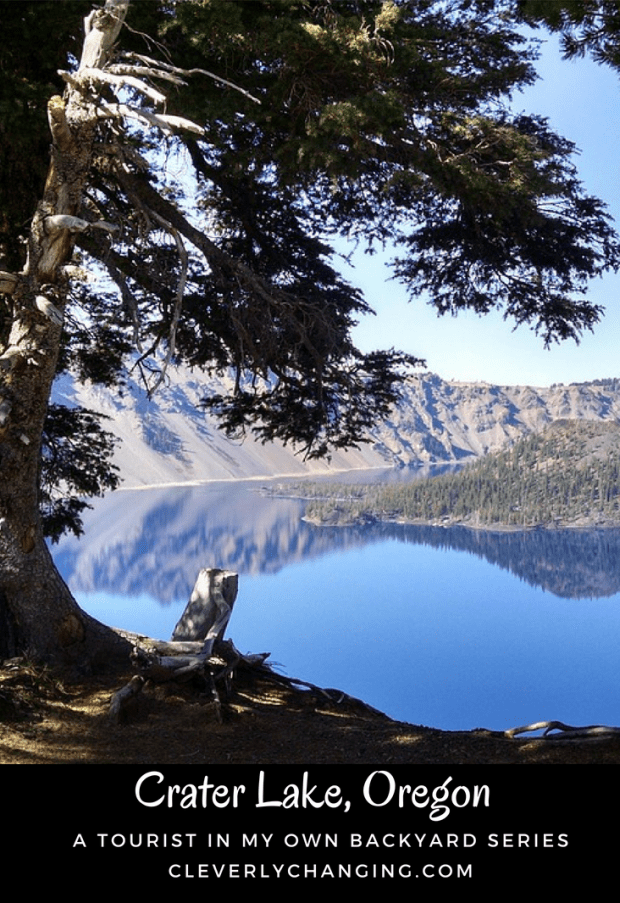 Crater Lake, Oregon is a wonderful scenic travel destination in the US