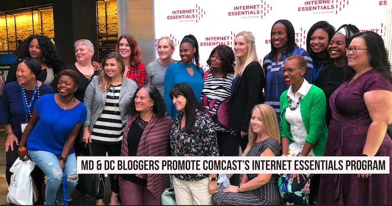 Marland and DC area bloggers help promote Comcast Internet Essentials Program