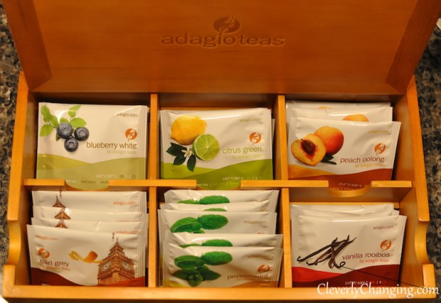 Adagios Teas Gift Set - Tea Chest