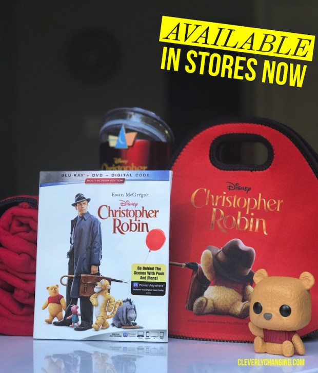 Christopher Robin is Available in Stores Now