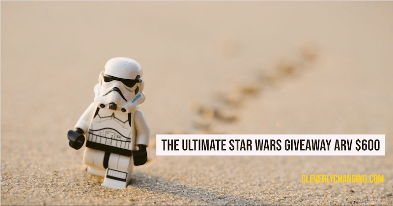 Star Wars Giveaway ARV 600
