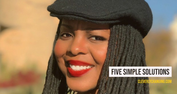 African American health and wellness blogger