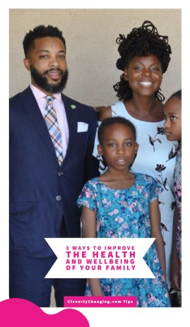3 Ways to Improve the Health and Wellbeing of Your Family African American Family Spending Time Together