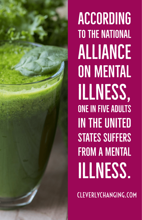 According to The National Alliance on Mental Illness, one in five adults in the United States suffers from a mental illness