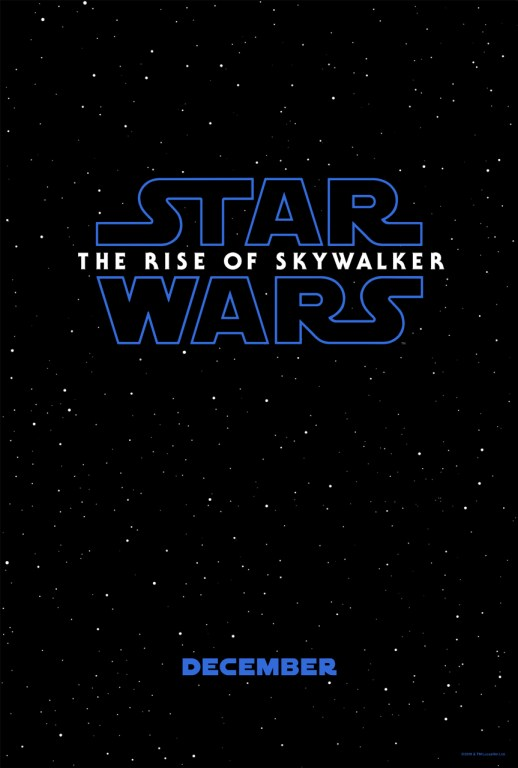Star Wars: The Rise of Skywalker opens in U.S. theaters on December 20.