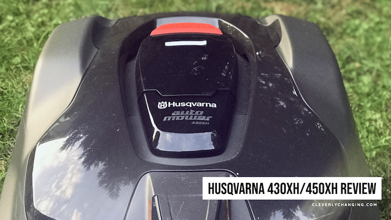 Husqvarna 430xh:450XH automower review #automowerfirst